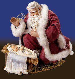 Jesus or Santa