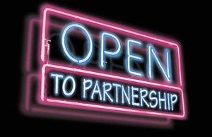 Partnership-sign